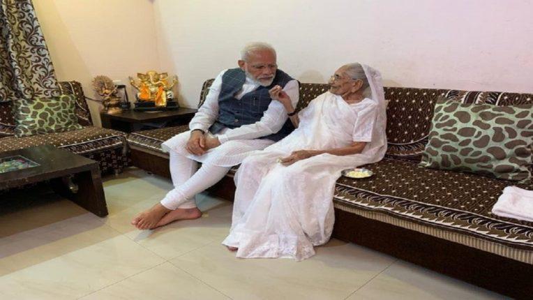 आईने आज कोरोनाची लस टोचून घेतली, पंतप्रधान नरेंद्र मोदींची माहिती