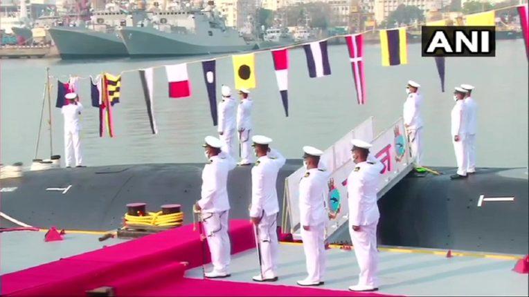 माझगाव डॉकयार्डमध्ये नविन पानबुडी; भारतीय नौदलाच्या ताफ्यात 'करंज'