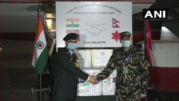India and nepal vaccine friendship