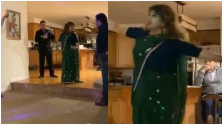 शोले स्टाईलमध्ये इराणी महिलेचा डान्स, नवरा झाला विरू, आणि…. हा VIDEO सोशल मीडियावर घालतोय धुमाकूळ!