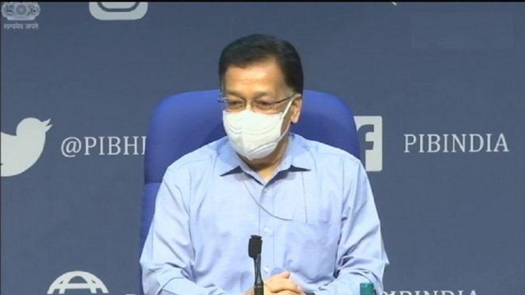 Union Health Secretary, Rajesh Bhushan  (फोटो साभार : ANI)