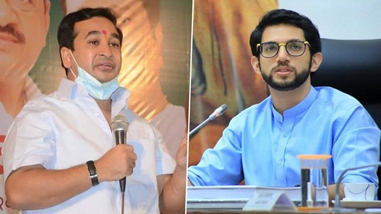 Is Disha Patani allowed to break all the rules? Nitesh Rane criticizes Aditya Thackeray