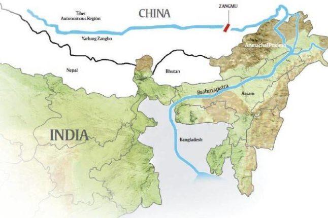 'ब्रह्मपुत्रा'वर जगातील सर्वात मोठं धरण बांधण्यास चिनी संसदेची मंजुरी ; अरुणाचल प्रदेशाजवळील धरणामुळे  भारत आणि चीनमधील संघर्ष पुन्हा उफाळून येण्याची चिन्हं