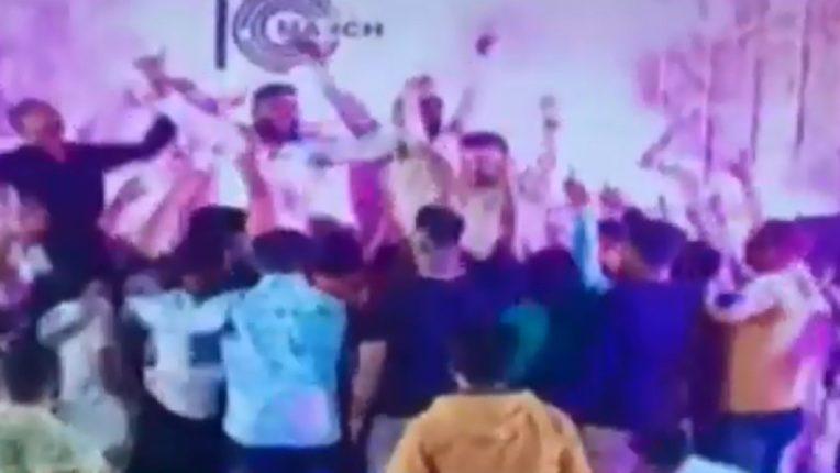 Bull's Birthday Party in Dombivli; AJIT of Corona Rules at DJ Party