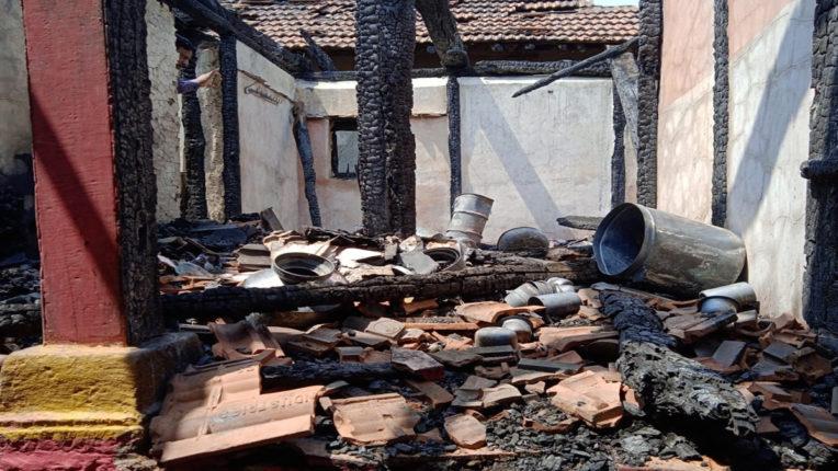 लग्नघरालाच लागली आग, बस्ता अन् दागदागिने सारेकाही जळून भस्मसात