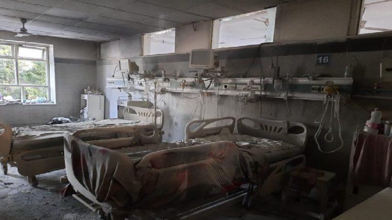 दिल्लीतील सफदरजंग रुग्णालयाला लागली भीषण आग