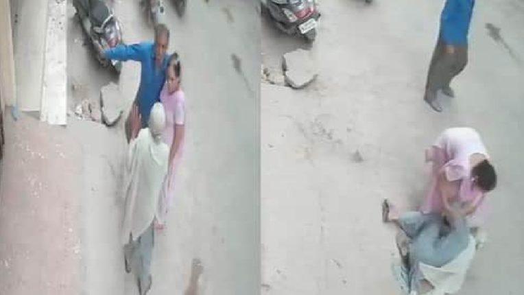 धक्कादायक… मुलानेच घेतला आईचा बळी, कानशिलात लगावताच खाली कोसळून माऊलीचा मृत्यू, VIDEO व्हायरल