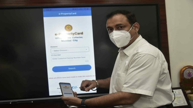 Mumbai Land Income Magazine Now on Mobile App District Collector Launches E-Property Card