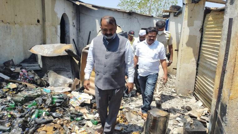 gawit at mokhada burnt house