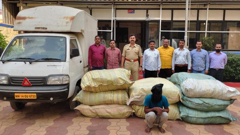 gutkha seized in chakan