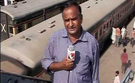 पाकिस्तानचा रिपोर्टर चांद नवाब पुन्हा एकदा आपल्या रिपोर्टिंगमुळे चर्चेत ; सोशल मीडियावर व्हिडीओ व्हायरल