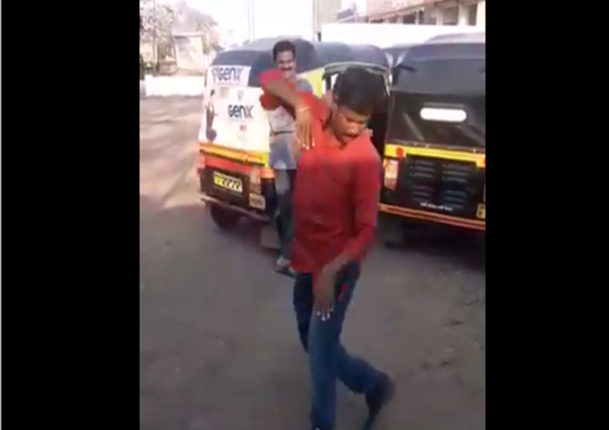 lavni dancer auto rickshaw driver