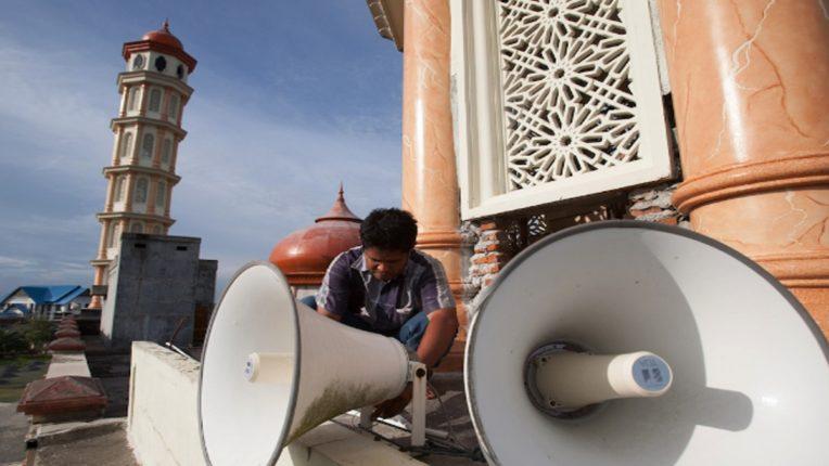 loudspeaker mosque