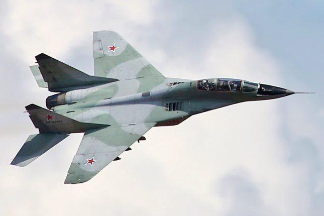 After Bison, Sukhoi, Raphael, now a female pilot in the MiG-29 squadron
