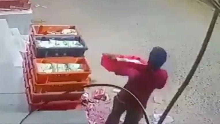milk theft