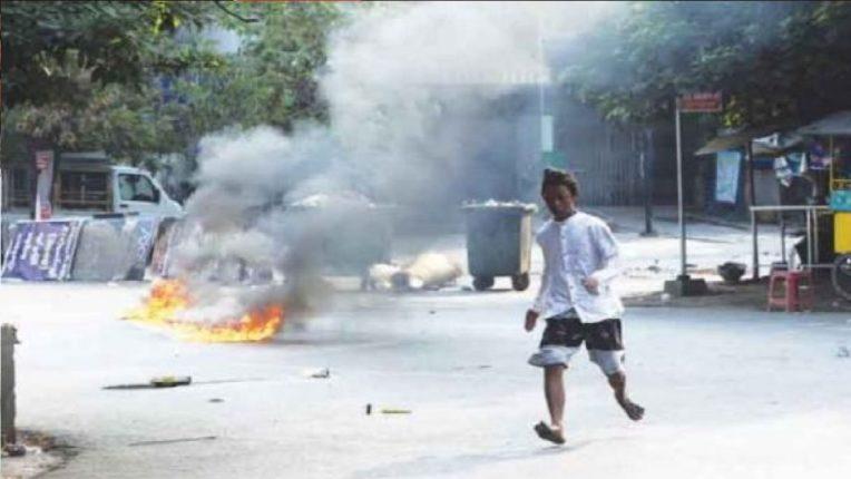 म्यानमारमध्ये लष्कराचा रक्तरंजित हिंसाचार, आतापर्यंत शेकडो आंदोलकांचा गेला जीव