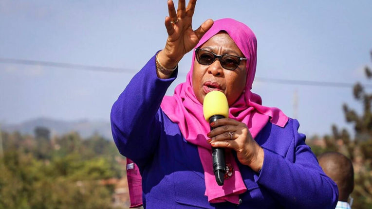 samila hasan president of tanzania