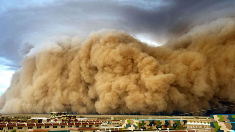 sand storm in china