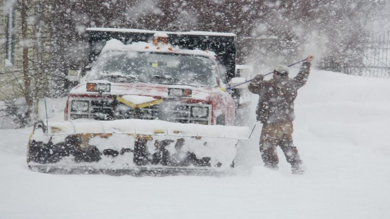 Record snowfall in the United States; Broke the 140 year record