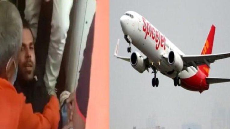 थरारक ! विमानाने उड्डाण घेताच हवेत घडला धक्कादायक प्रकार, इमरजन्सी दरवाजा उघडायला गेला अन्…