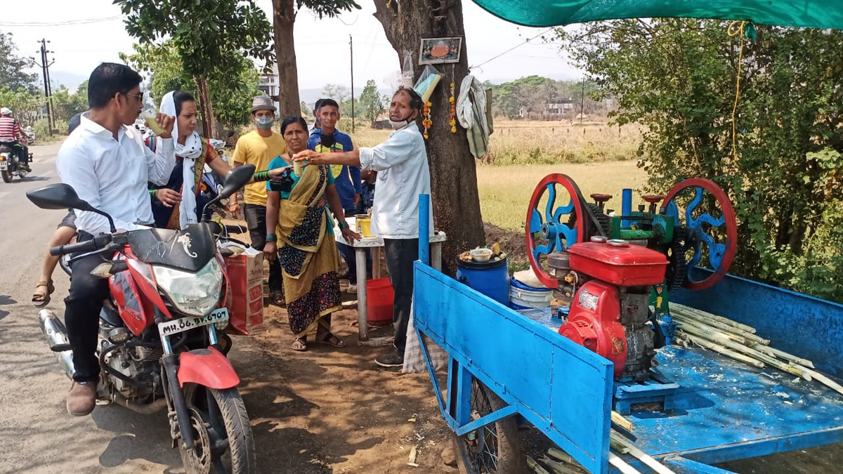 sugarcane juice centre