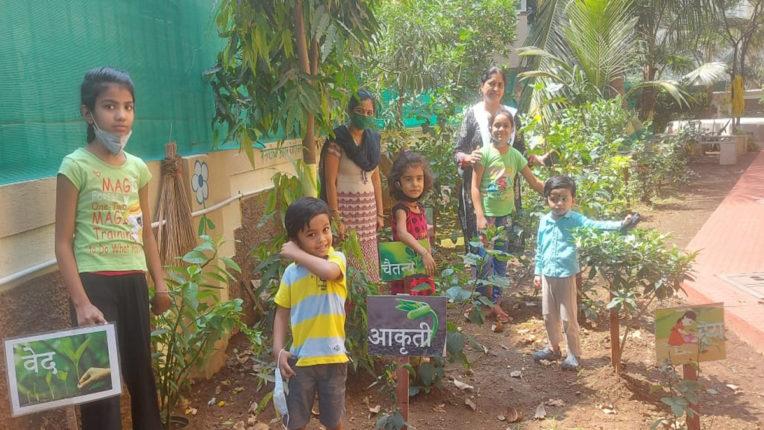 tree plantation by children