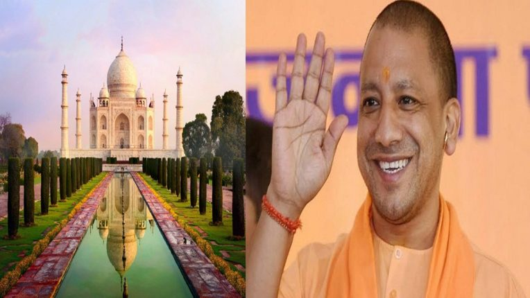 'Mahamahal' to be the Taj Mahal in the kingdom of Yogis The Taj Mahal was formerly a Shiva temple; Controversial statement of BJP MLA Surendra Singh