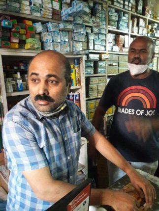 साताऱ्यातील लॉकडाऊनच्या विरोधात व्यापारी आक्रमक ; शाहूपुरी पोलिसांनी बंद केली दुकाने