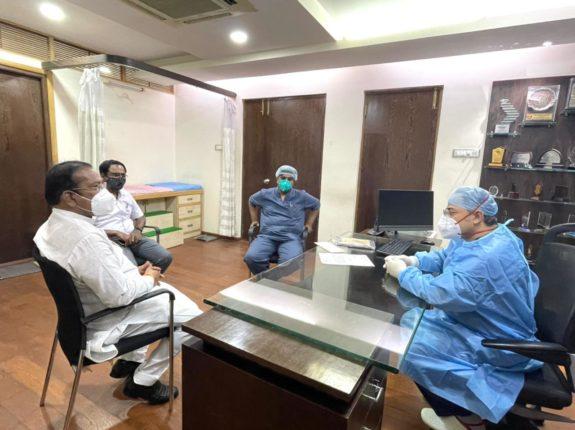 खासदार श्रीरंग अप्पा बारणे सोशल फाउंडेशनच्या सहकार्याने लोकमान्य हॉस्पिटलमध्ये ६७ बेडचे कोविड केअर सेंटर