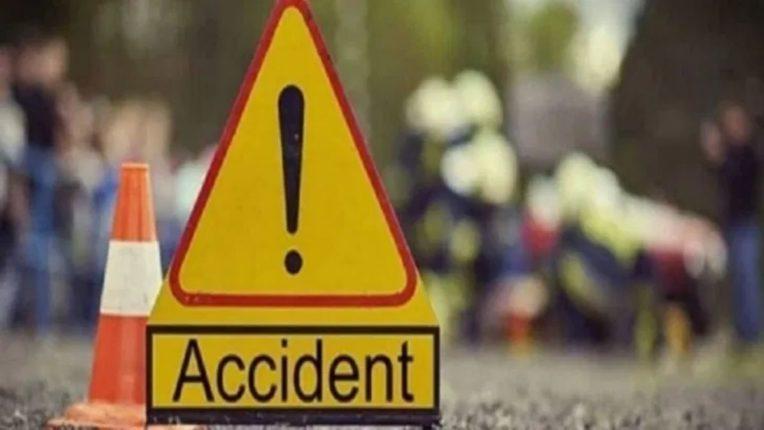 नाशिक-पुणे महामार्गावर अपघात; ट्रकखाली चिरडून एकजण ठार