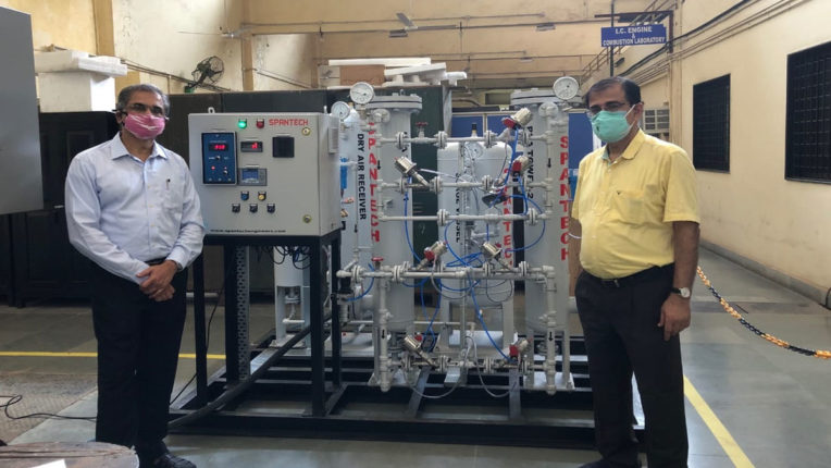 IIT project for oxygen