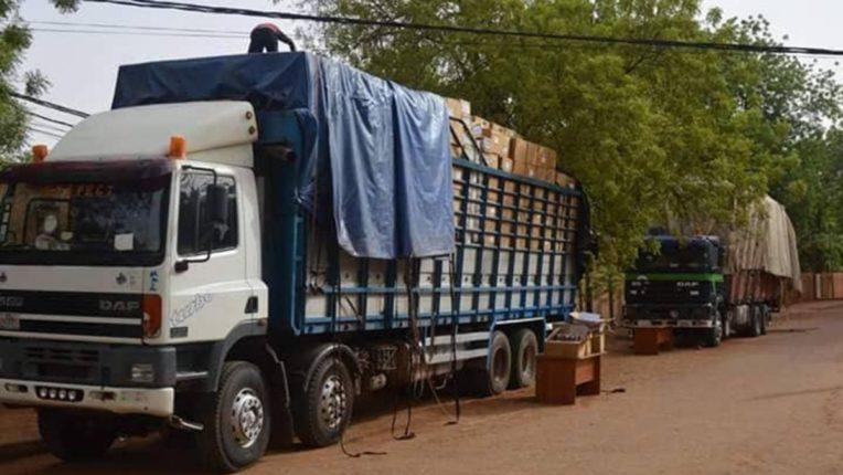 सुगंधित तंबाखूचा ट्रक जप्त ; ७३ लाखांचा माल घेतला ताब्यात