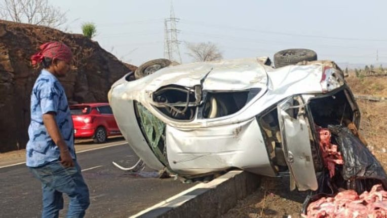 accident in kasara