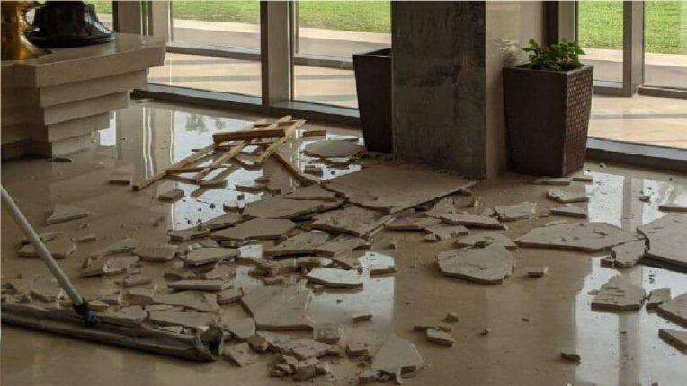 आसाममध्ये भूकंपाचे तीव्र धक्के ; ६.४ रिश्टर स्केल तीव्रतेच्या भूकंपामुळे अनेक ठिकाणी पडझड