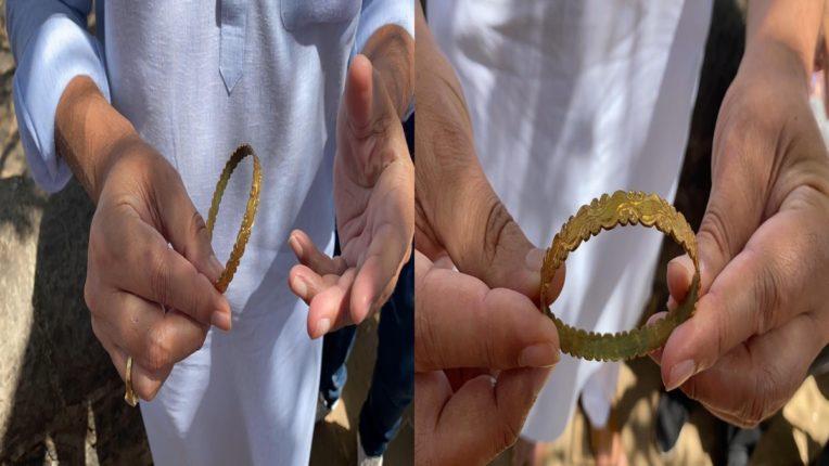 किल्ले रायगडवरील उत्खननात आढळली सोन्याची बांगडी; पुरातत्व विभागाच्या हाती महत्त्वाचा दस्ताऐवज