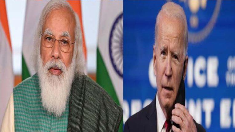 पंतप्रधान मोदींची जो बायडेन यांच्यासोबत फोनवरुन चर्चा, अमेरिकेकडून भारताला मदतीचा हात