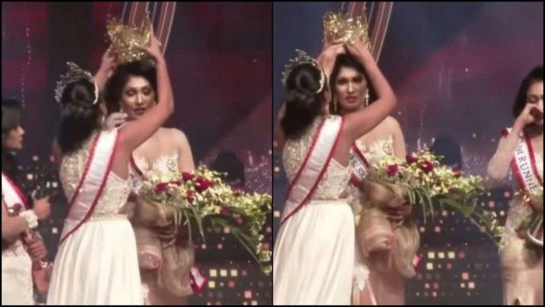 'मिसेस श्रीलंका' स्पर्धेच्या विजेतीचा मुकूट परिक्षकांनीच हिसकावला, VIDEO सोशल मीडियावर व्हायरल!