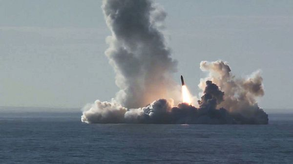 Missiles spotted in the Sea of Japan; Russia increased its war readiness