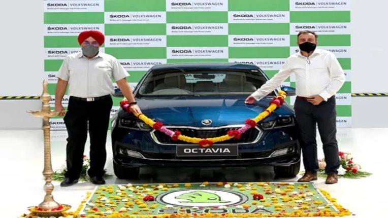 स्कोडा ऑटो इंडियाने ऑक्टाव्हियाचे भारतातील उत्पादन केले सुरू
