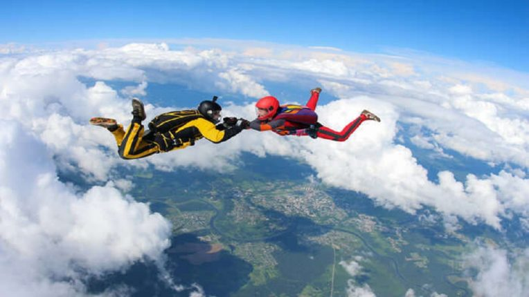 Accident while having sex while sky diving