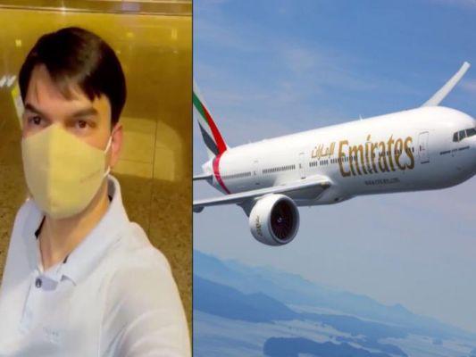 अवघ्या १८ हजाराच्या तिकिटात ३६० आसनी विमानात 'मुंबई ते दुबई' त्याने 'एकट्यानेच' केला प्रवास