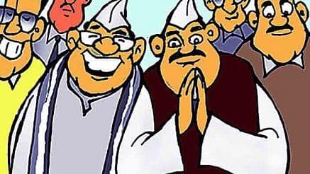 कोविड १९ मध्ये फलटण-कोरेगाव तालुक्यातील लोकप्रतिनिधी दाखवा आणि १९ रुपये मिळवा ; उत्तर कोरेगाव तालुक्यातील वयस्कर नागरिकांनी लावली पैज