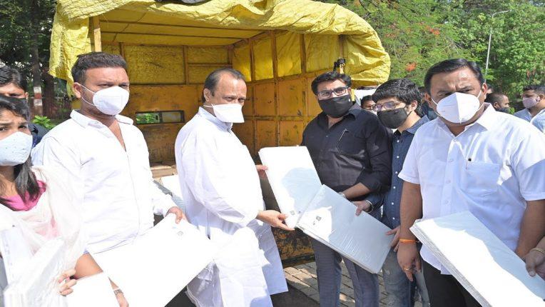 कोविड-१९ पीडितांसाठी एमजीच्या ग्राहकांनी उभारला निधी; बायोडिग्रेडेबल बेडशीट केल्या दान