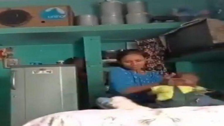 ६ महिन्याच्या बालकाला निदर्यी मातेने बेदम मारले; घटनेचा व्हिडिओ व्हायरल