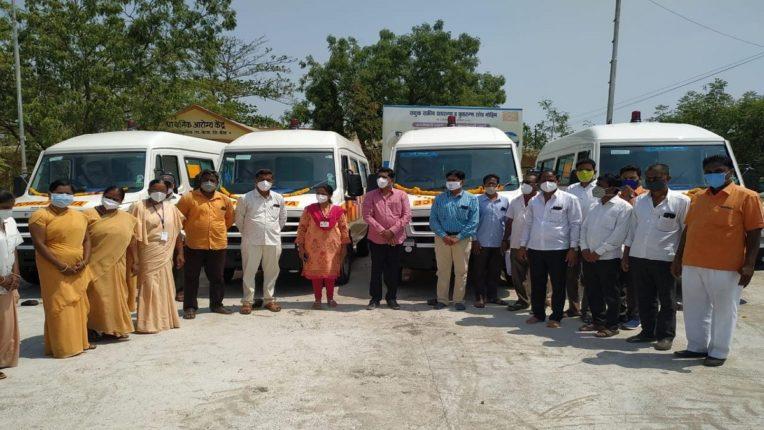 बीड जिल्हा परिषद आरोग्य यंत्रणेला आणखी ७ नव्या रुग्णवाहिका प्राप्त; पालकमंत्री धनंजय मुंडेंचा सातत्यपूर्ण पाठपुरावा