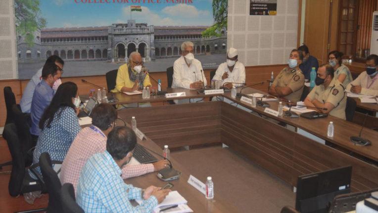 bhujbal meeting in nashik