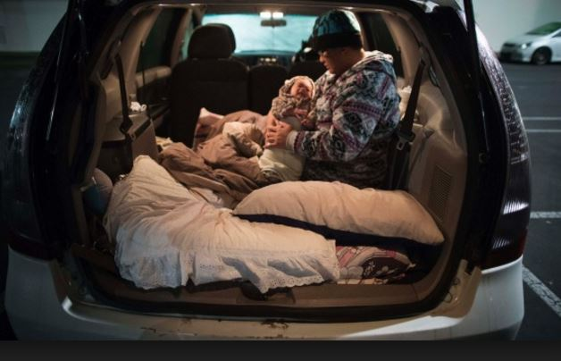 Millionaires live in luxury cars; No one is poor but homeless