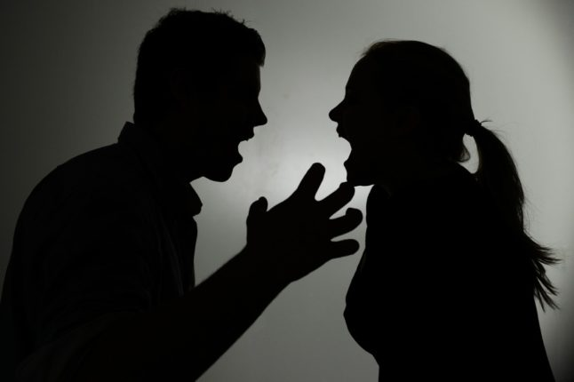Complaint of quarreling couple, marriage arranged by police
