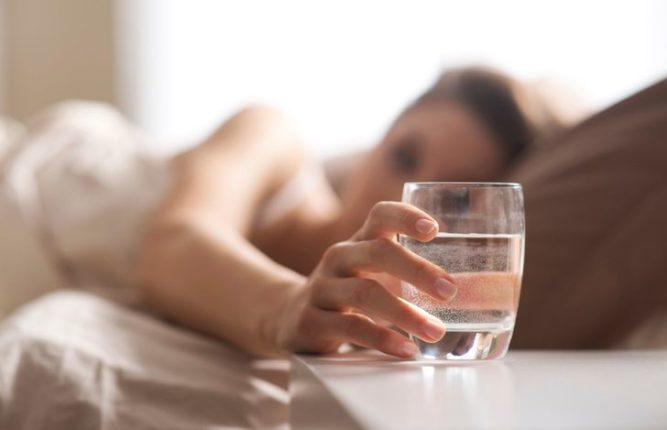 Drink water on an empty stomach and stay away from diseases
