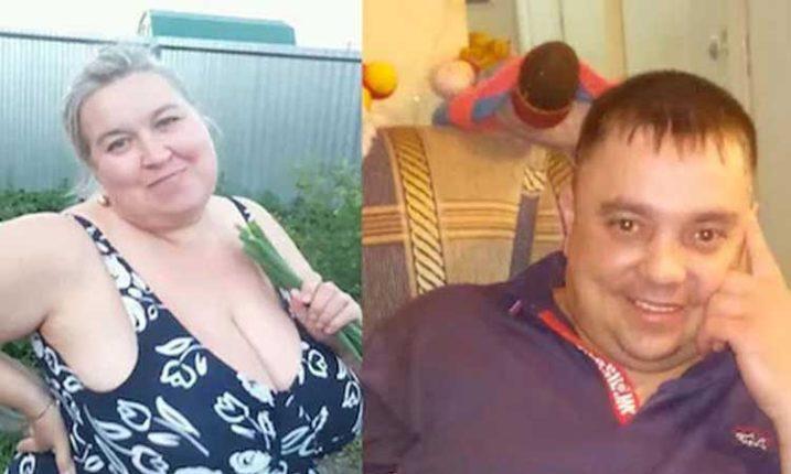 अबब! १०१ किलो वजनाची पत्नी भांडण झालं म्हणून पतीच्या तोंडावरच बसली ;पुढे झालं असं काही..